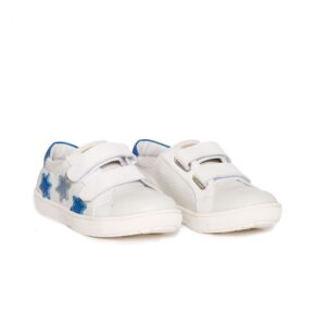 Tenisi copii, Skate, PJ Shoes, alb blu, 35