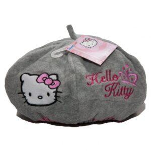 Basca fete Hello Kitty gri, marimea 52