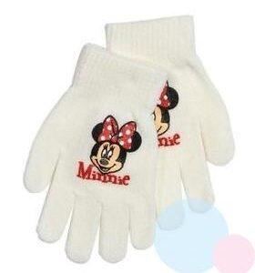 Manusi pentru fetite gri/bleumarin/bleo/alb/roz – Minnie Mouse